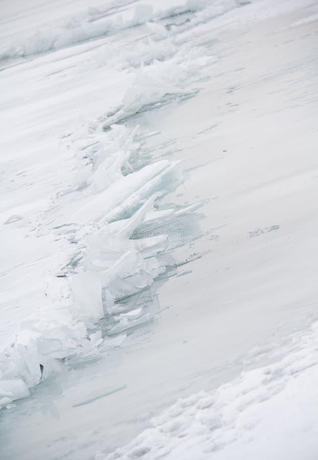 Lac glacial photo libre de droits