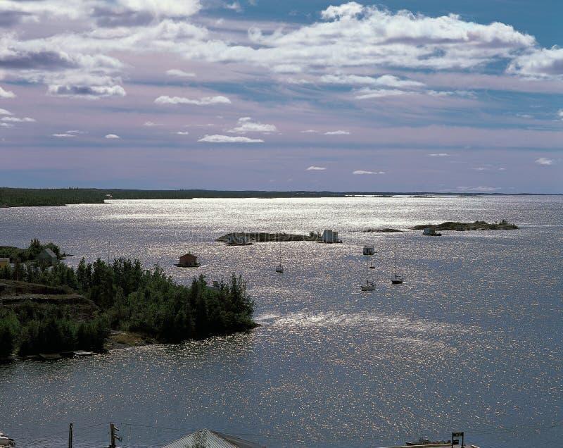 Lac grand slave photos libres de droits