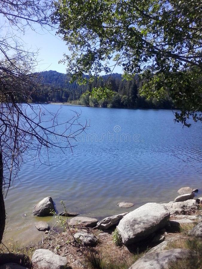 Lac Gregory photographie stock