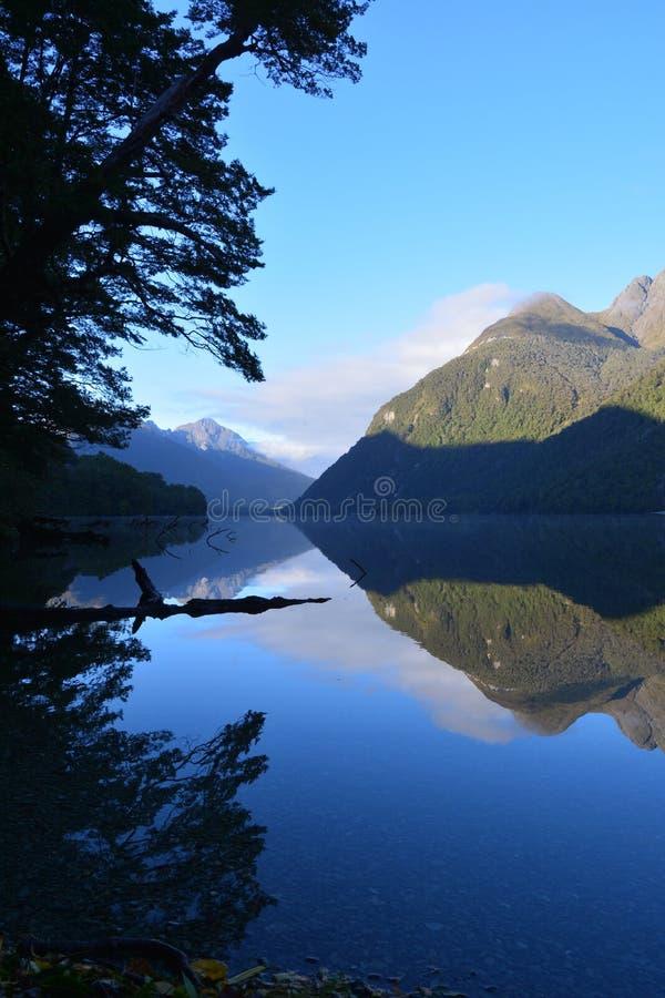Lac Gunn photo libre de droits