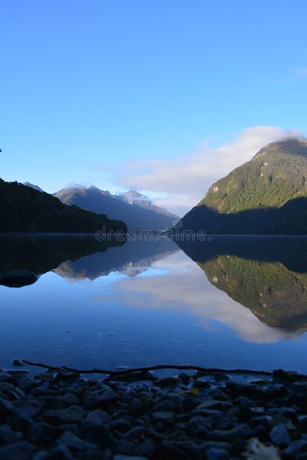 Lac Gunn images libres de droits