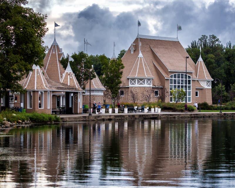 Lac Harriet Pavilion image stock