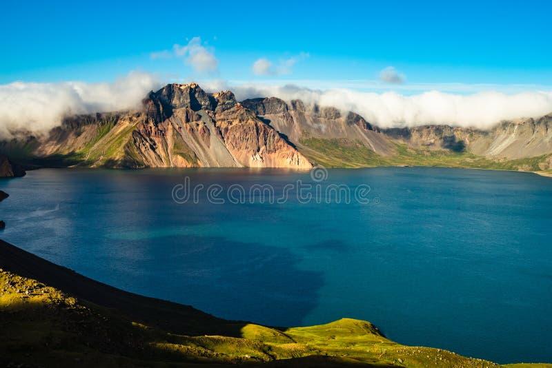 Lac heaven de montagne de Changbai photo libre de droits