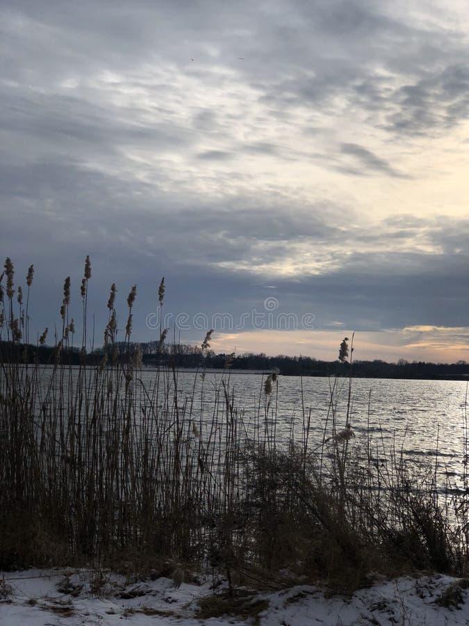 Lac Honey Brook Pennsylvania Strouble photographie stock