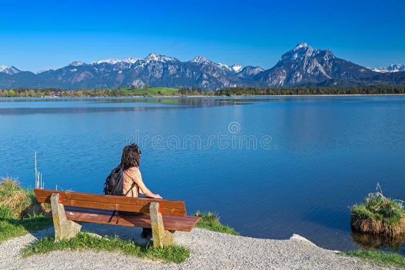 Lac Hopfensee image stock