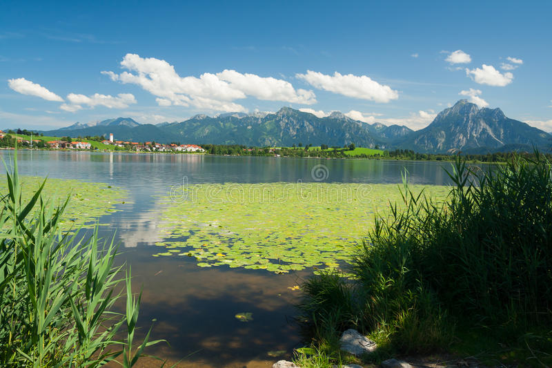 Lac Hopfensee photographie stock