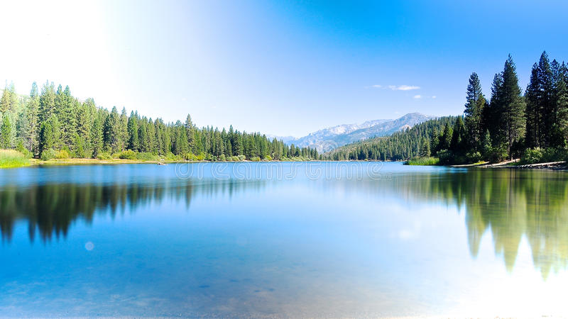 Lac Hume image stock
