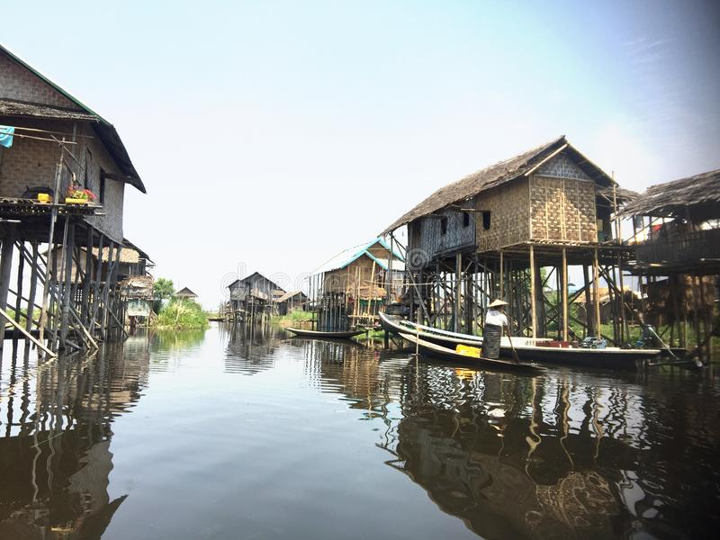 Lac Inle photo stock