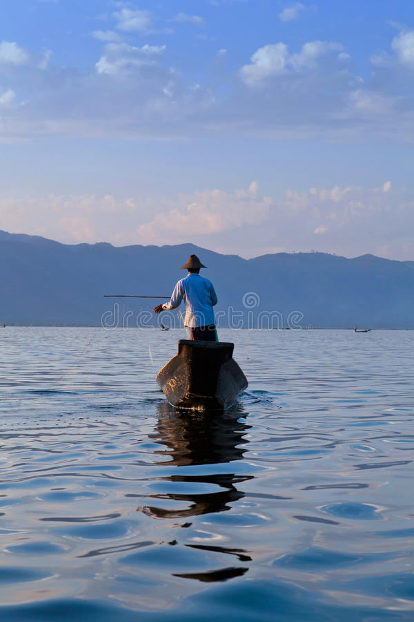 Lac Inle en Shan State, Myanmar photographie stock