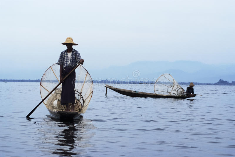 Lac Inle, Myanmar images stock