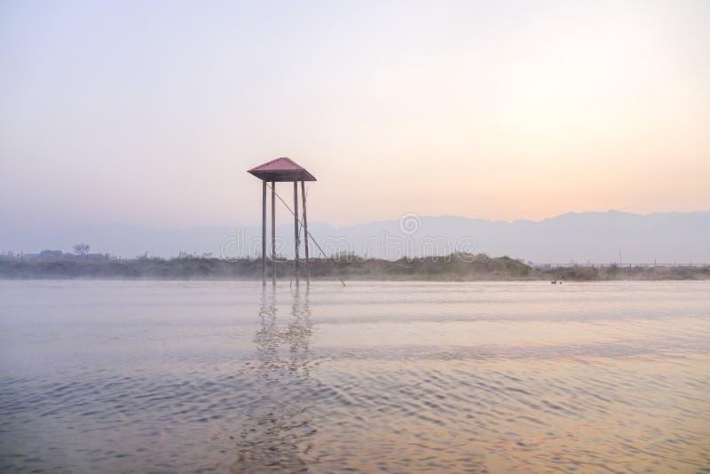 Lac Inle, Shan, Myanmar photo stock