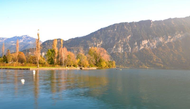 Lac interlaken photos libres de droits