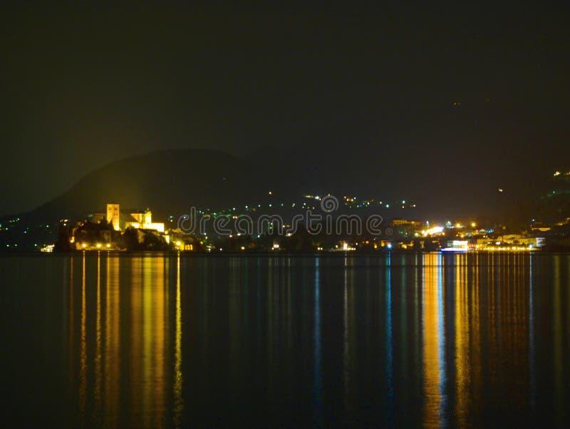 Lac Italie Orta photos stock