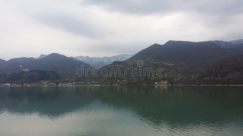 Lac Jablanica dans BiH images libres de droits