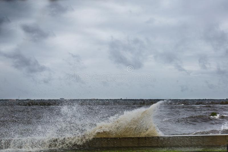 Lac Jackson During Hurricane Irma photos stock