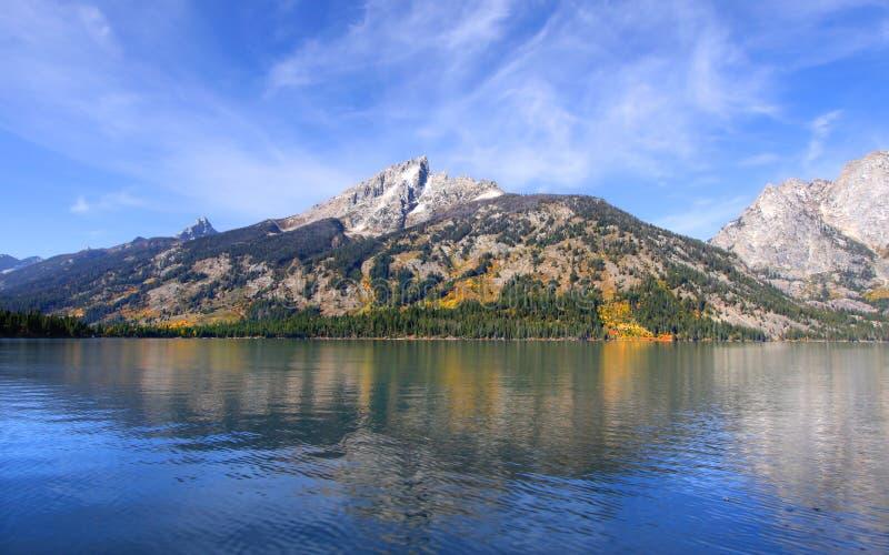 Lac jenny photo stock