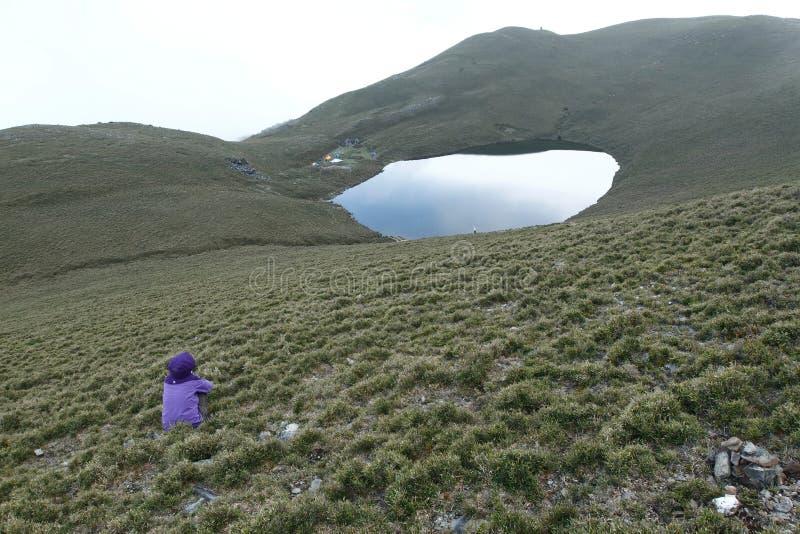 Lac Jiaming photo stock