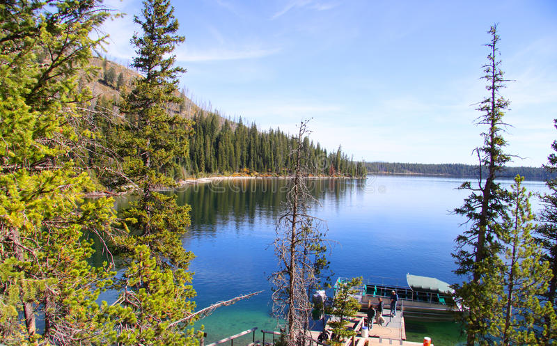 Lac Josphine photo libre de droits