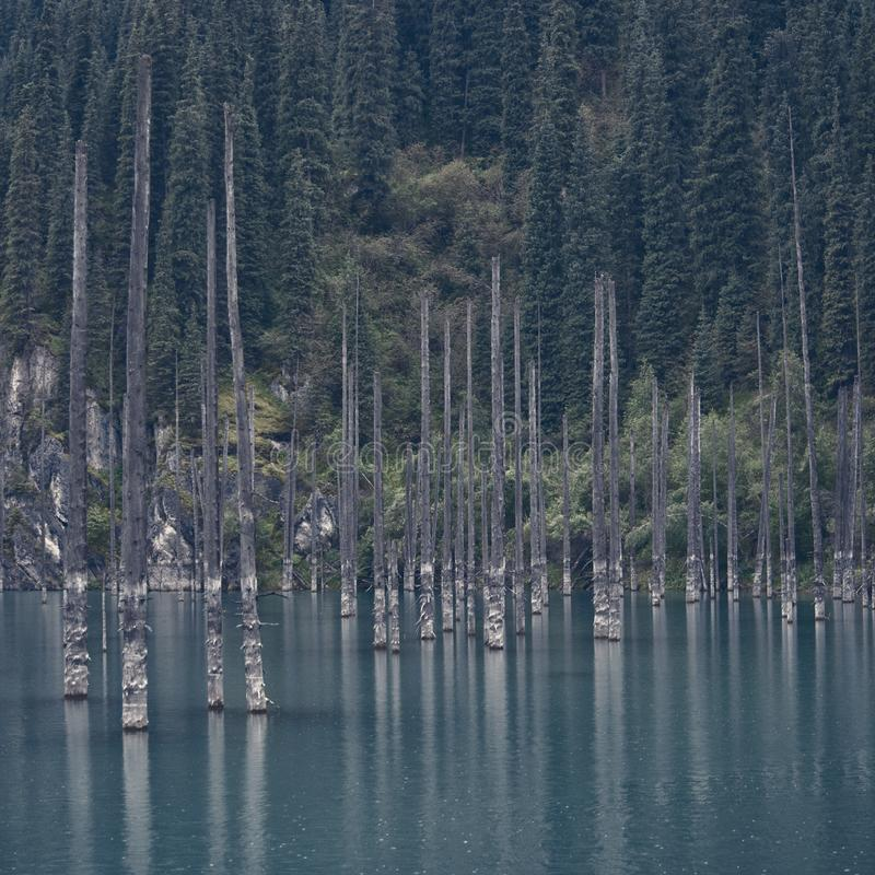 Lac Kaindy E r photos stock
