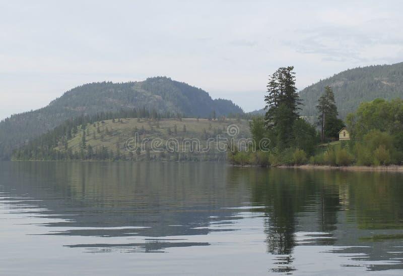 Lac Kalamalka image stock