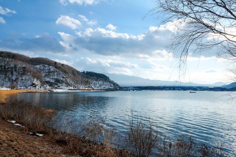 Lac Kawaguchiko photos libres de droits