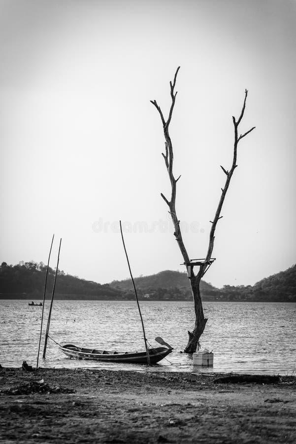 Lac landscape en Thaïlande photographie stock libre de droits