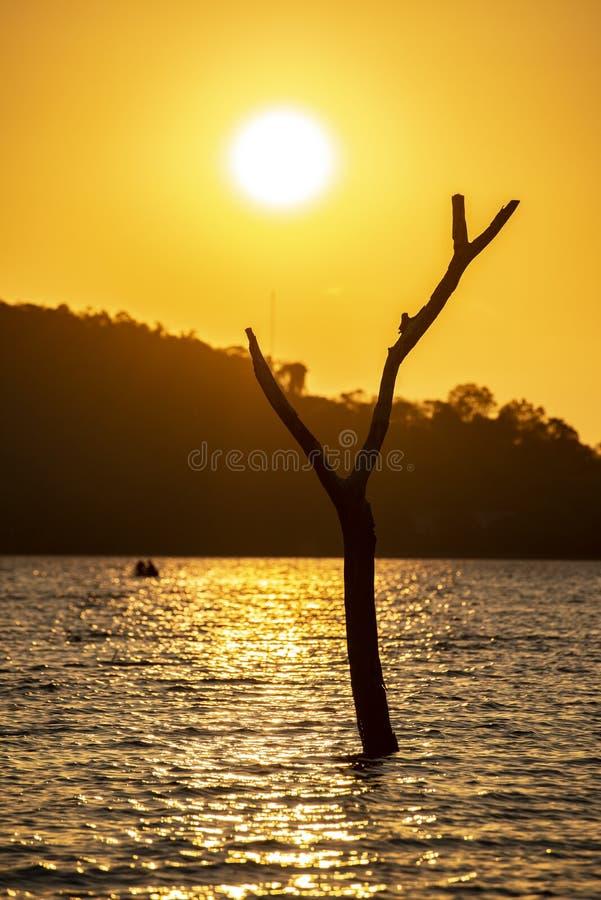 Lac landscape en Thaïlande image libre de droits