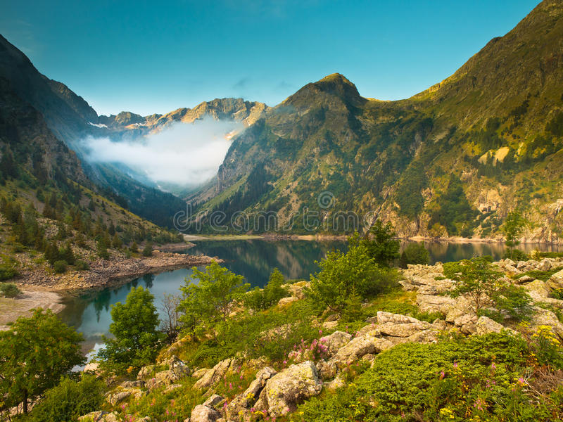 Lac Lauvitel Royalty Free Stock Photography
