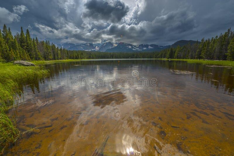 Lac le Colorado Bierstadt photos stock