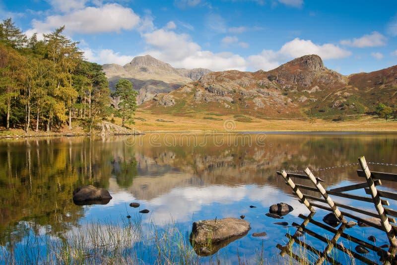 lac le Tarn de district de blea image libre de droits