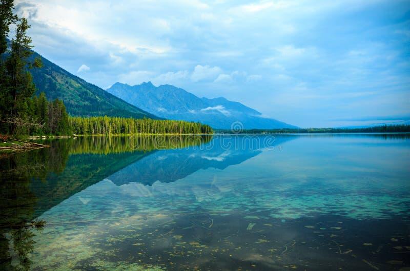 Lac leigh photographie stock libre de droits