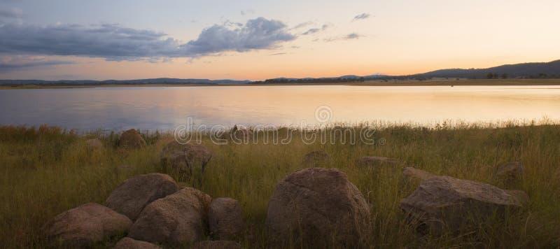 Lac Leslie au Queensland photo libre de droits