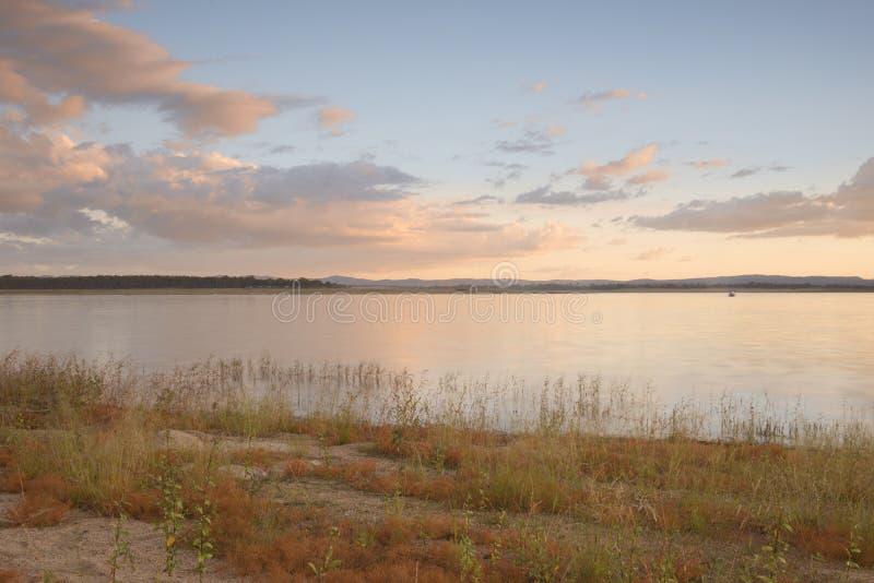 Lac Leslie au Queensland photos stock