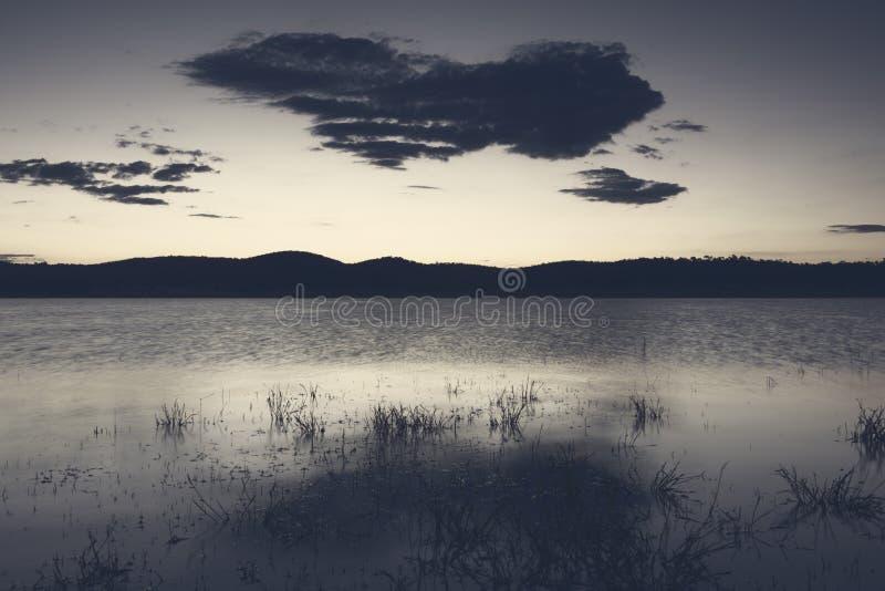 Lac Leslie au Queensland images libres de droits