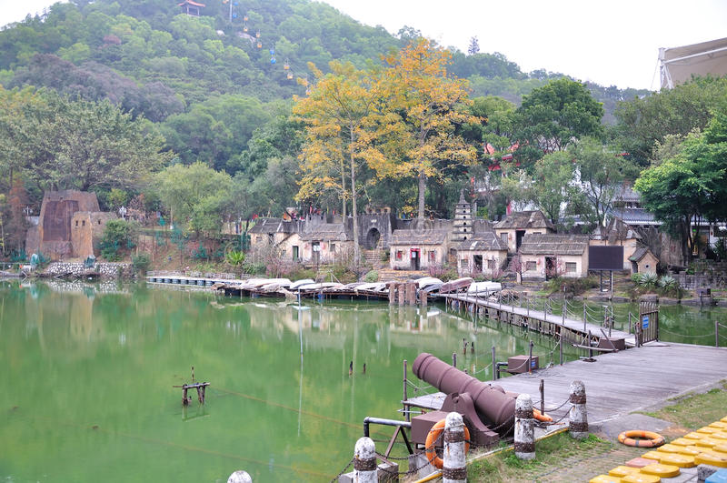 Lac Longquan images stock