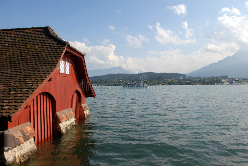 Lac Lucerne photos stock