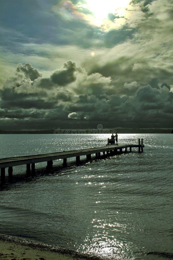 Lac Macquarie photographie stock libre de droits