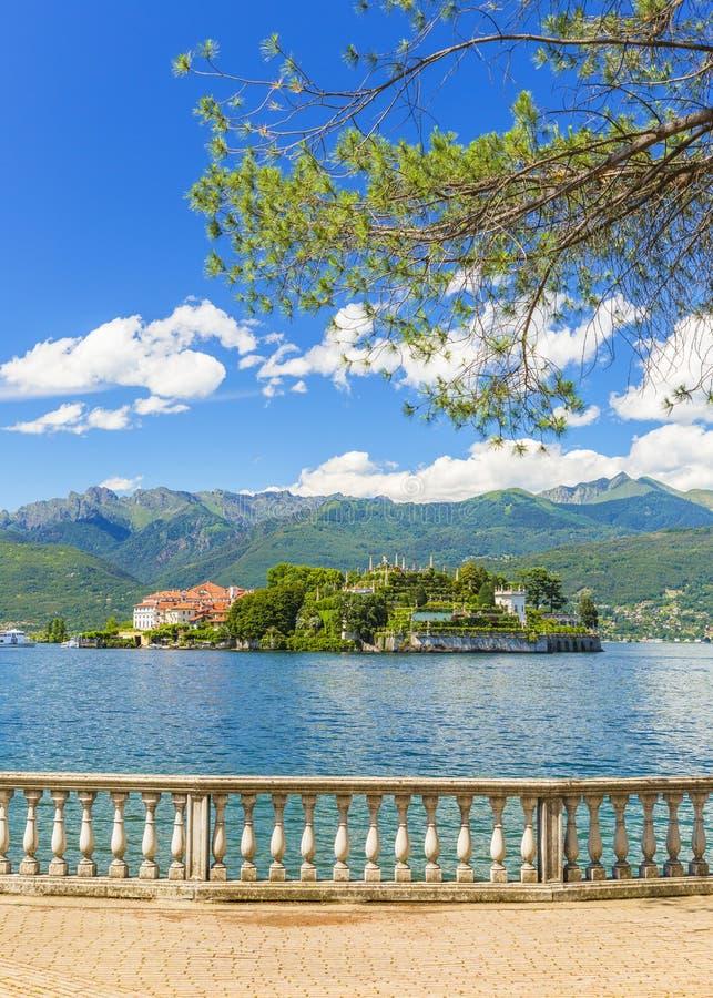 Lac Maggiore chez Stresa, Italie du nord photos stock