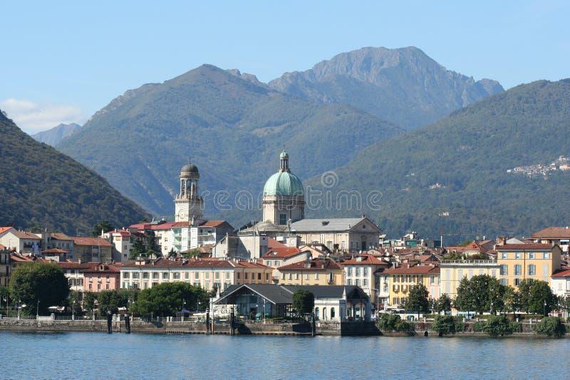 Lac Maggiore en Italie photo stock