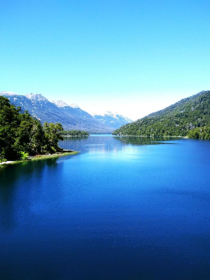 Lac magique image stock