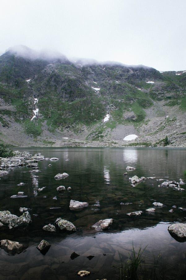 Lac Manas photographie stock