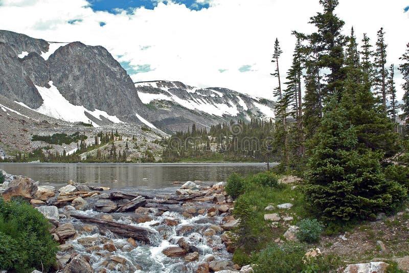 Lac Marie photos libres de droits