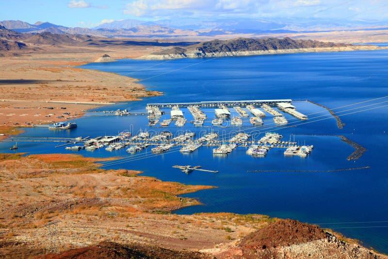 Lac Mead National Recreation Area, Nevada, Etats-Unis photographie stock libre de droits