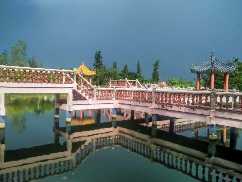 Lac Melati dans Kangar, Perlis photos libres de droits