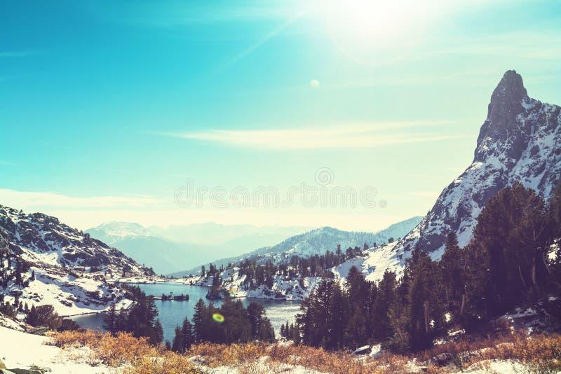 Lac minaret photos libres de droits