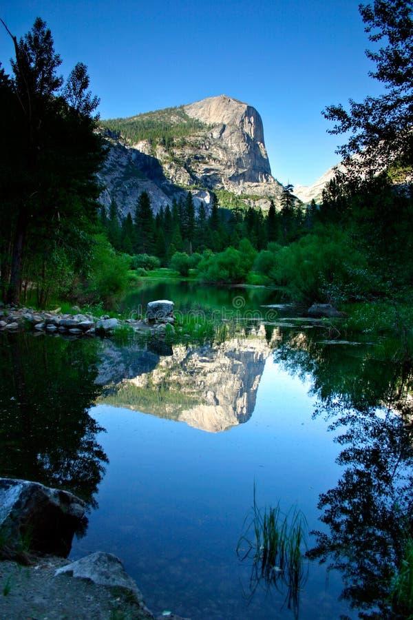 Lac mirror, stationnement national de Yosemite photos libres de droits