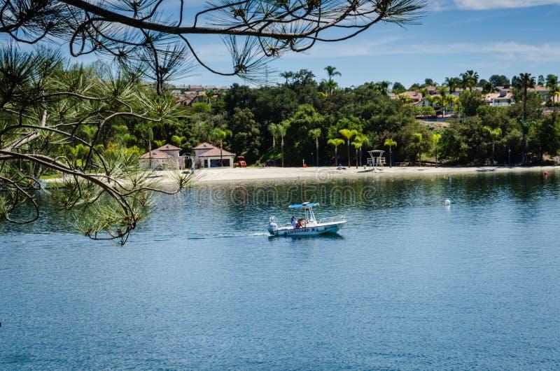 Lac Mission Viejo - Mission Viejo, la Californie photo libre de droits