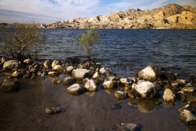 Lac Mohave, Az image stock
