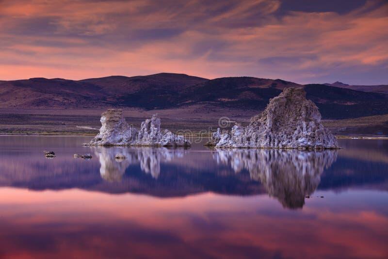 Lac mono photo libre de droits