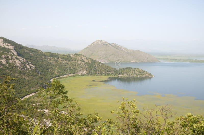 Lac Mont?n?gro Skadar photos stock